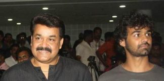 Mohanlal and pranav in jeethu movie