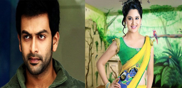 Miya in prithviraj Movie
