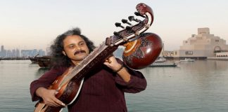 Poly varghese Mohana veena player