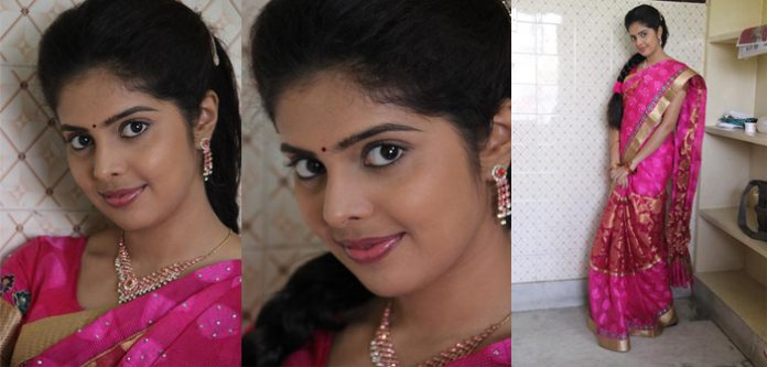 Tamil Actress Shravyah sexy New Stills