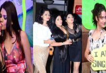 Tamil actress sangeeta birthday night party hot stills (1)